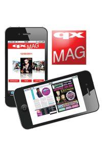 QXmag app tease