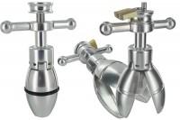 Steel Expanding & Locking Butt Plug