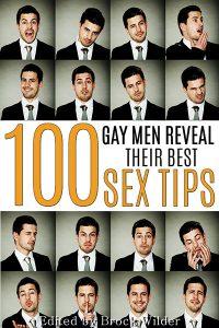 100 Gay Men Reveal Their Best Sex Tips