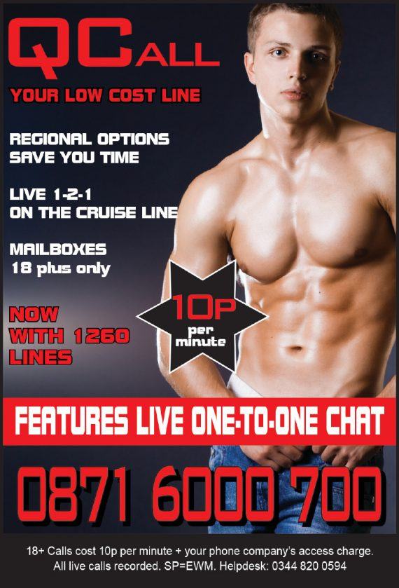 cheap gay chat line qcall
