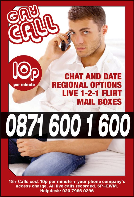 cheap gay chat line gay call